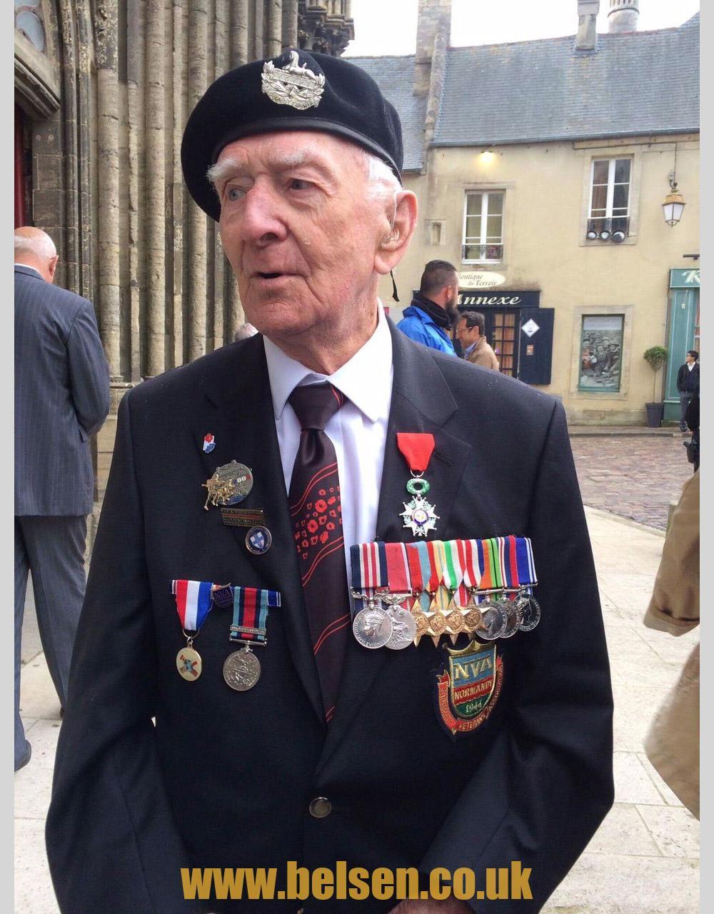 Belsen liberator Hector Duff