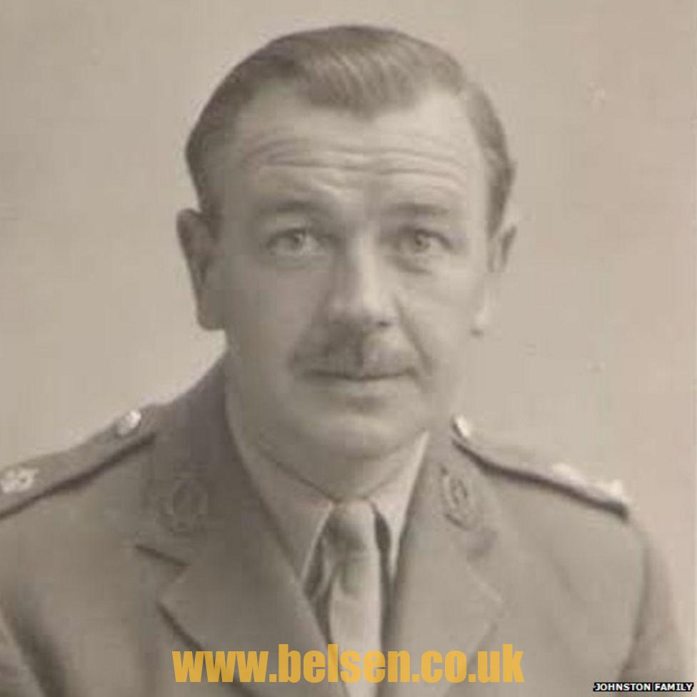 Major James Johnston Belsen