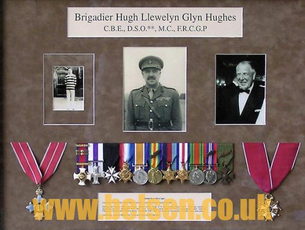 Hugh Llewellyn Glyn Hughes belsen