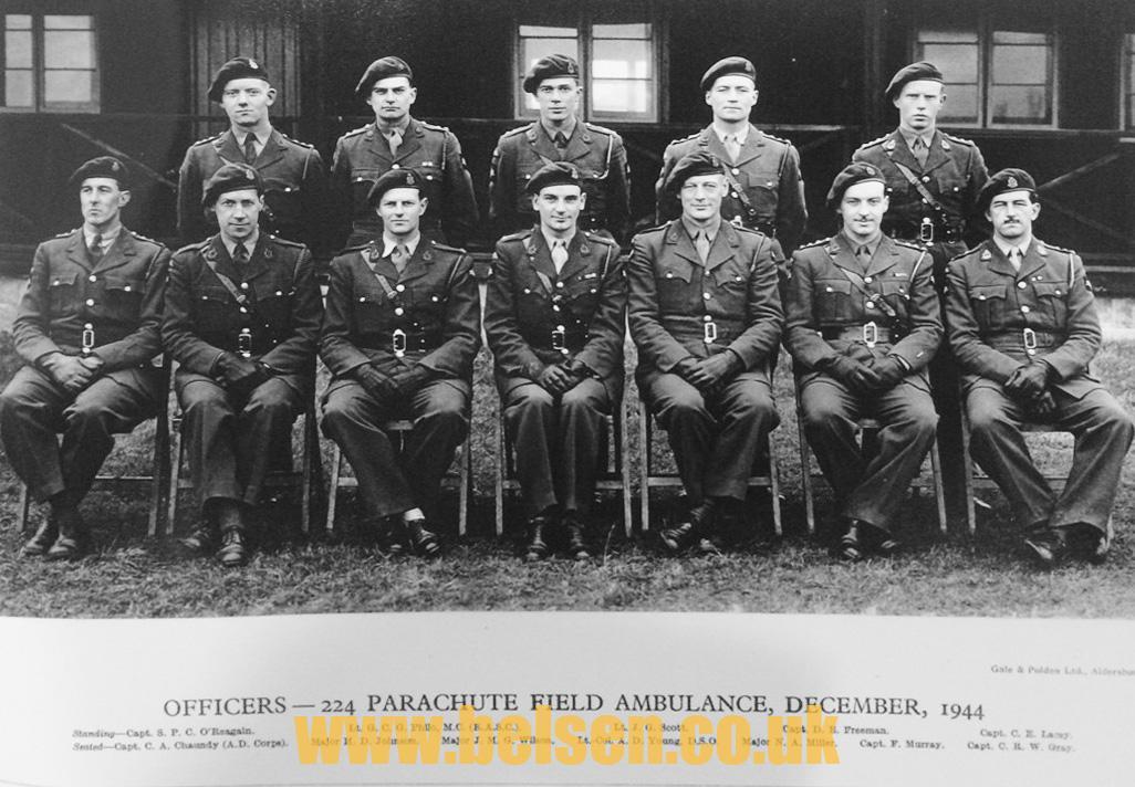 224 parachute field ambulance belsen