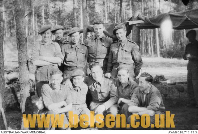 Alan Moore Australian War Artist Belsen