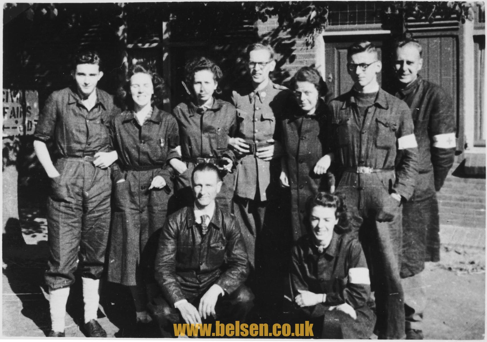 Red Cross at Belsen